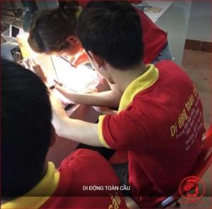 Khóa học sửa chữa điện thoại tại Di ĐỘng Toàn Cầu (Ảnh 3)