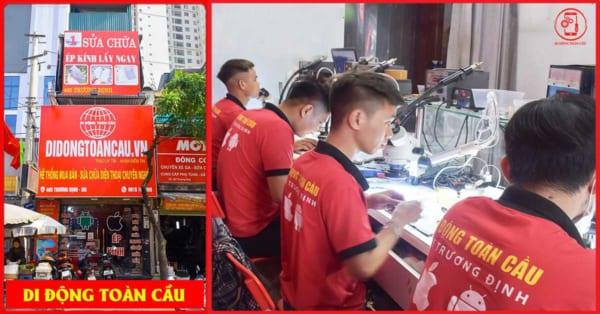 Học sửa chữa điện thoại tại Di Động Toàn Cầu (ảnh 1)