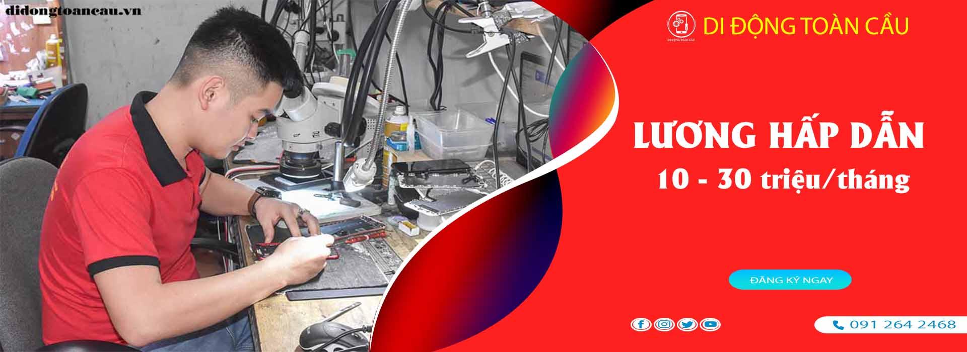 Học sửa chữa điện thoại tại Hà Nội