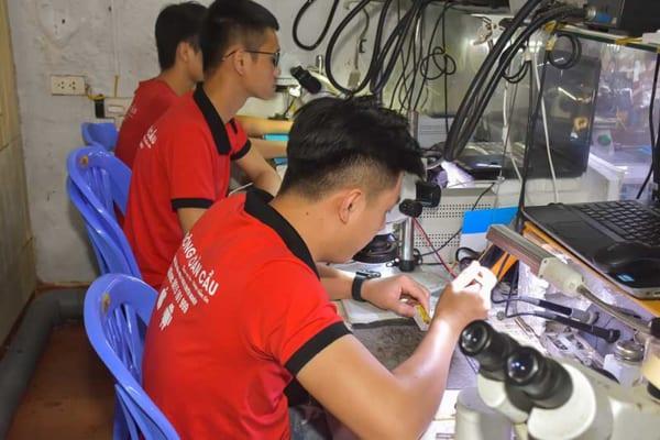 Học nghề sửa chữa điện thoại tại Hà Nội