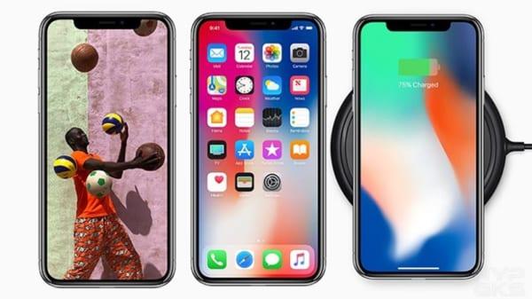 Màn hình iPhone X bị ám vàng