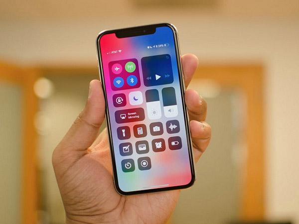 Test diểm chết trên màn hình iPhone
