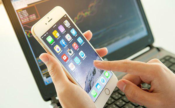 Test diểm chết trên màn hình iPhone 3