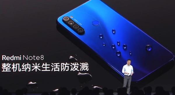Đánh giá điện thoại Xiaomi Note 8 1