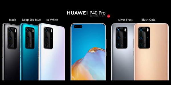 Huawei công bố sẽ có 5 màu, đó là Blush Gold (vàng má hồng), Deep Blue Sea