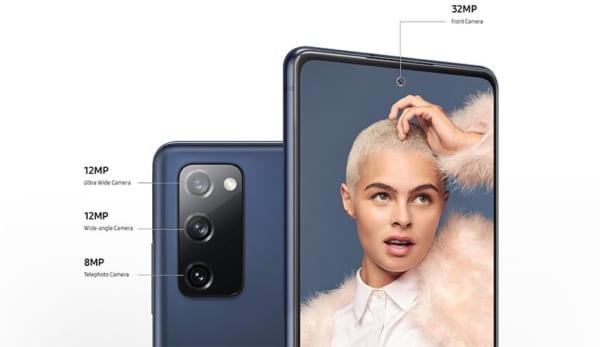 S20 FE sở hữu cảm biến selfie với độ phân giải 32MP
