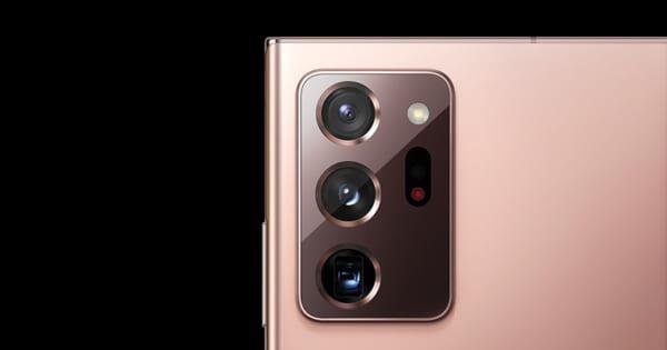 Galaxy Note 20 được trang bị bộ 3 ống kính