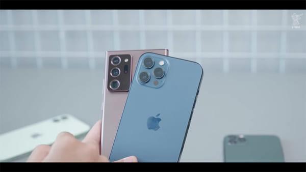 iPhone 12 Pro Max có độ dày hoàn toàn giống với các đàn em của mình