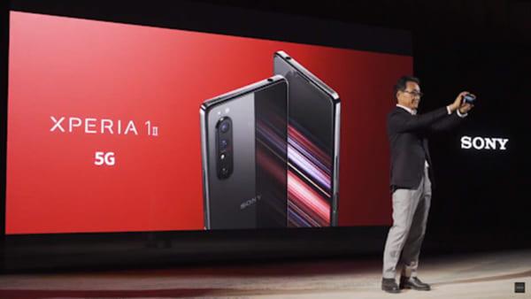 smartphone đầu tiên của Sony được tích hợp công nghệ 5G
