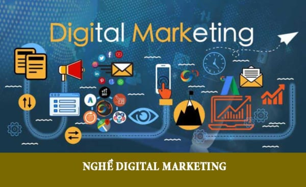 Học nghề digital marketing