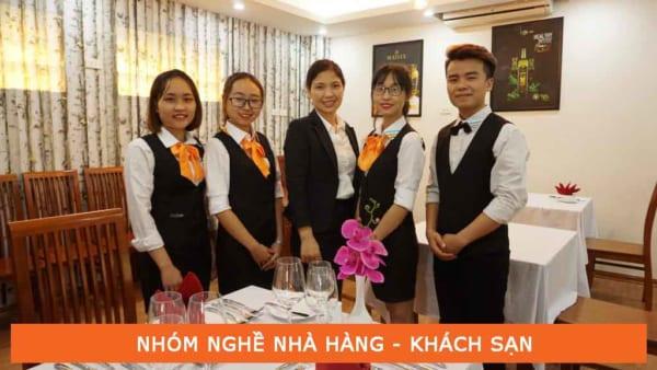 Học nghề nhà hàng khách sạn