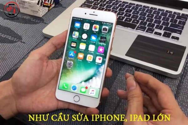 Nhu cầu sửa chữa iphone, ipad rất lớn
