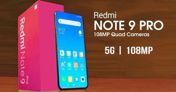 bộ đôi Redmi Note 9 5G và Note 9 Pro 5G