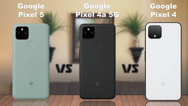 Google: Pixel 4A 5G và Pixel 5
