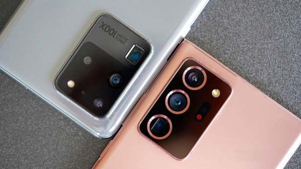 Note 20 Ultra có bố cục khá gọn gàng với 3 ống kính xếp dọc gọn gàng