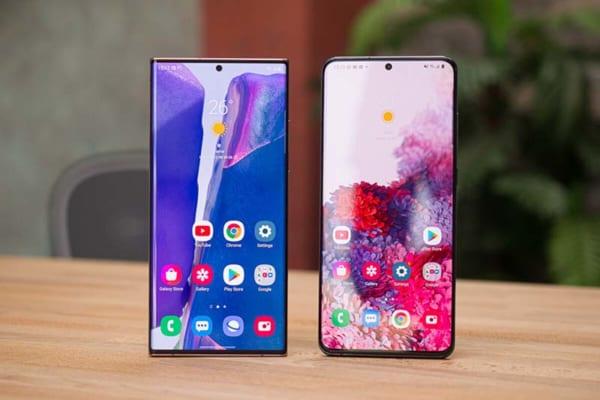 Galaxy S20 Ultra và Note 20 Ultra đều được Samsung ưu ái cho diện tích hiển thị to khủng