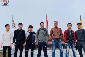 Team Di Động Toàn Cầu đi Tây Yên Tử