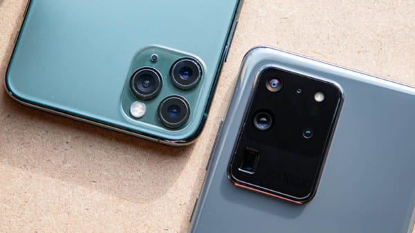Triple Camera của iPhone 11 Pro Max vs Samsung S20 Ultra
