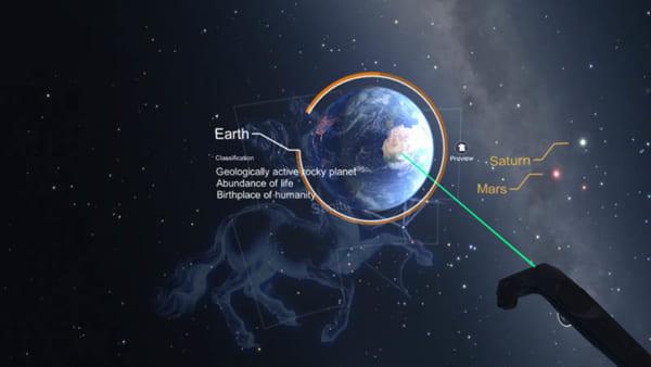 Star Chart VR: Tham Quan Hệ Mặt Trời Tại Nhà