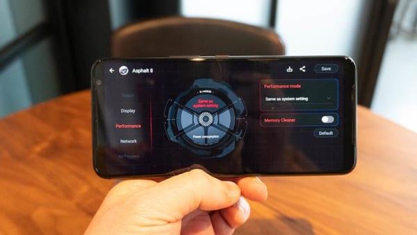 ROG Phone 3 sẽ có một chế độ Trò chơi độc quyền giúp nâng cao chất lượng âm thanh nổi