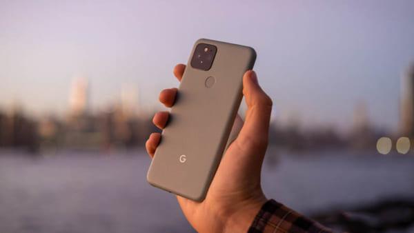oogle Pixel 5 được Google thiết kế đậm chất ngôn ngữ Google