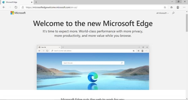 Trình Duyệt Made in Microsoft: Microsoft Edge